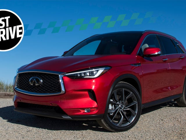 The 2019 Infiniti QX50 Is A High-Tech Baby Stroller With A Trick Variable Compression Engine