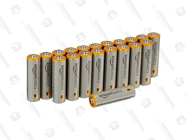 Get a Pack of 20 AmazonBasics AA Batteries For $6 When You Subscribe & Save