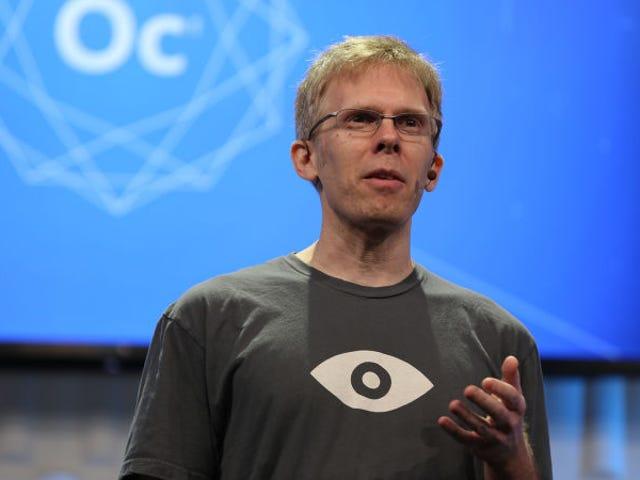 Oculus Riftin John Carmack luopuu tehtävästään VR-yrityksen CTO: na ja kokeilee jotain