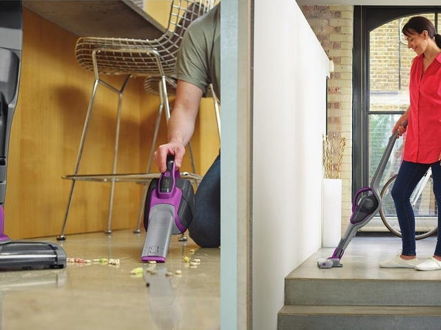 Save Over $40 On a Cordless Transforming Vacuum, Today Only