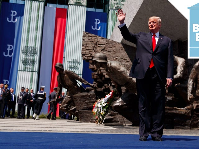 Trump Is Right At Home in Nationalist Poland