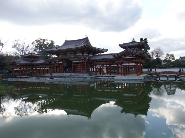Byodoin. Uji, Kyoto. Di Scott Bartley