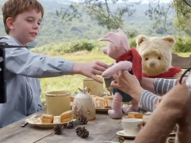 Christopher Robin's Pooh & Friends Looked So Real Because Puppeteers Played With Real Stuffed Animals on Set