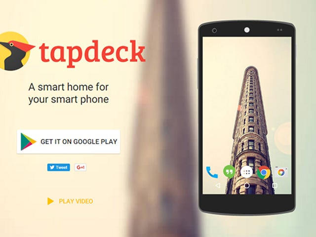 Obtenez un fond d'écran plus intelligent sur Android avec TapDeck
