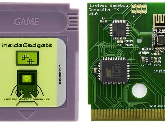 Transforme seu antigo Game Boy no Ultimate Retro Controller com este cartucho personalizado
