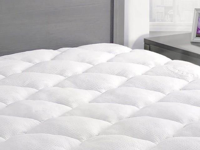 Upgrade Your Bed with a Hotel-Style Mattress Pad, On Sale Today Only