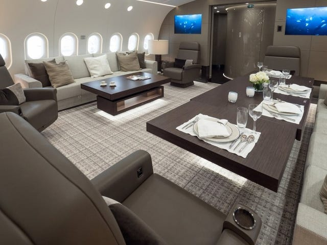 The New Boeing 787 Business Jet Is The Highest Penthouse Suite In The World