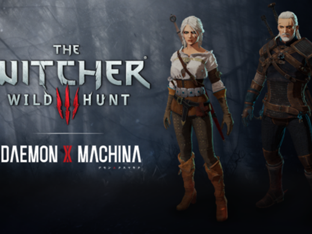Mecha game Daemon X Machina is getting Witcher III themed threads, hairdos, and body types, letting