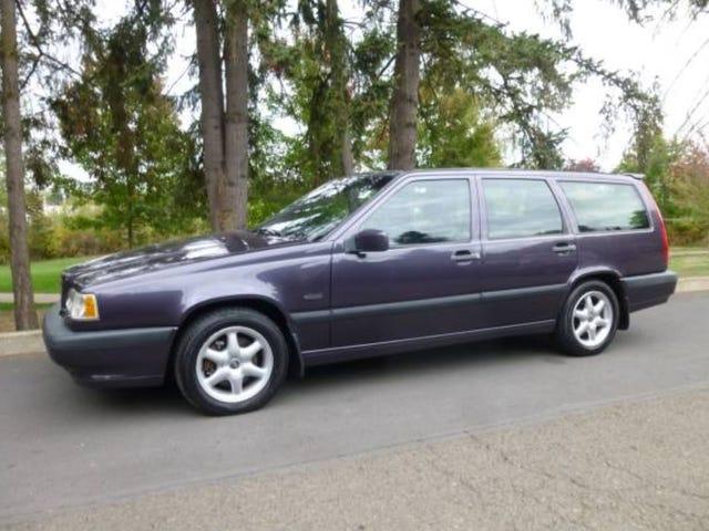 Speaking of manual Volvo wagons