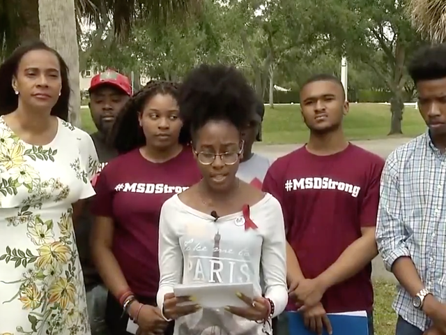 Black Students at Stoneman Douglas High Want Gun-Violence Solutions to Address Police Violence