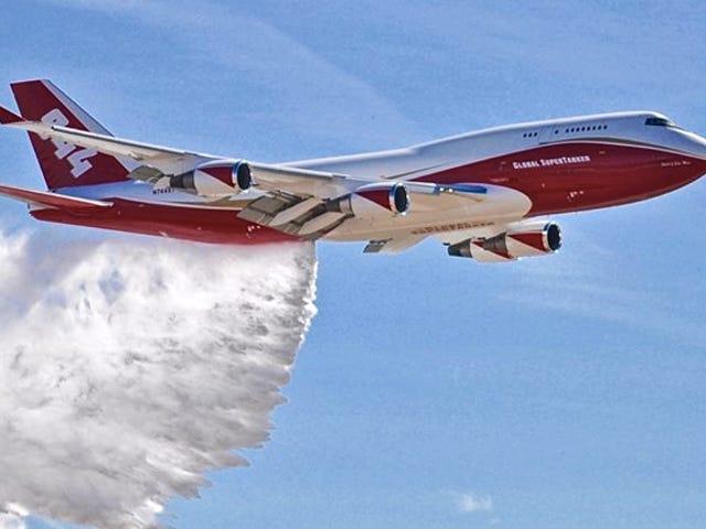 Boeing 747 này là Động vật Chữa cháy lớn nhất thế giới