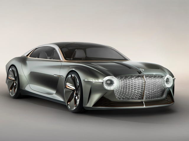Bentley's EXP 100 GT Imagines Electric Luxury and AI Assistants in the Year 2035