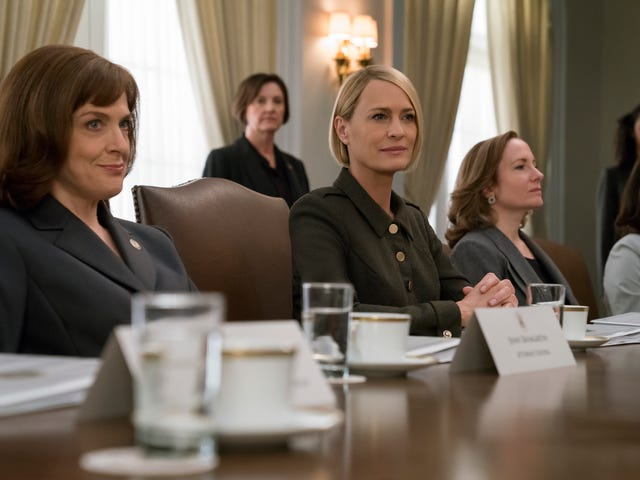 Claire settles all family business on a murderous House Of Cards