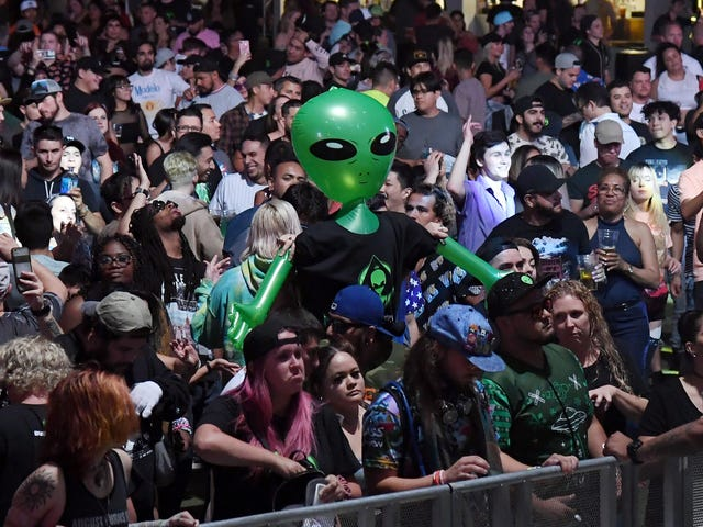 Songs to Listen to While You're Storming Area 51