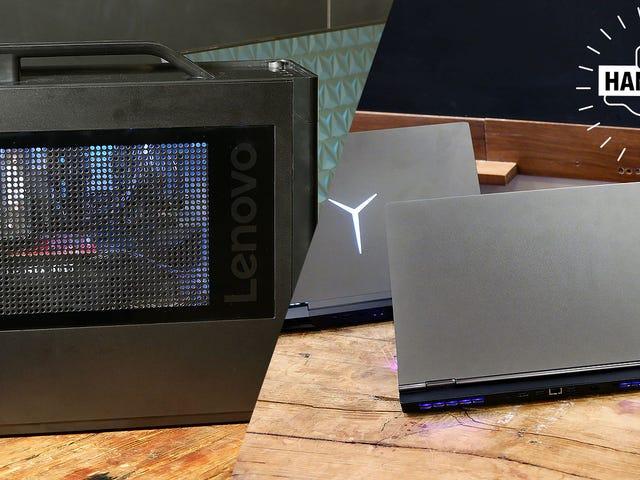 La línea de computadoras baratas para juegos de Lenovo ahora tiene mucha clase