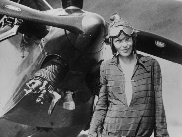 The Guy Who Found the Titanic Is Looking for Amelia Earhart's Plane