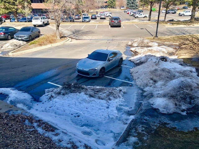 snow made custom parking