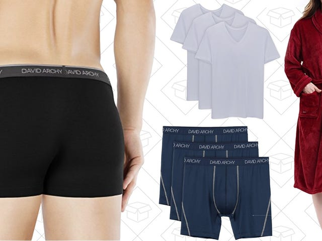 Upgrade Your Underwear Drawer and More With Amazon's One-Day Sale