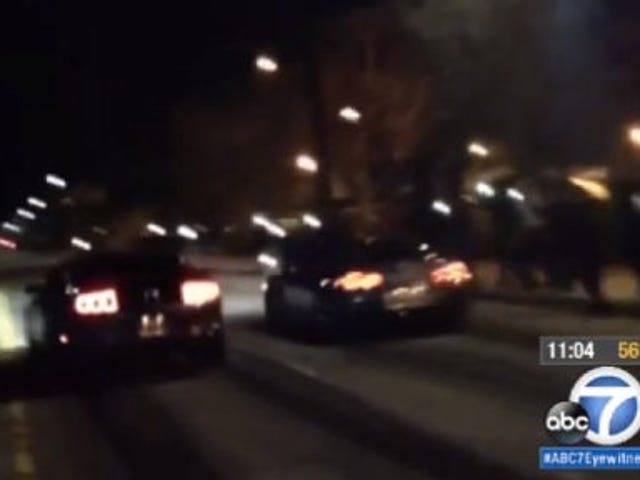 Video Menunjukkan Kecelakaan Balap Jalanan yang Membunuh Dua Orang, Tersangka Diidentifikasi