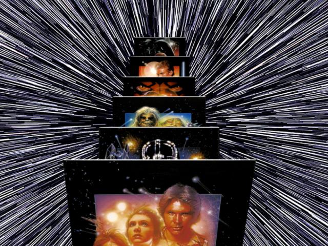 <i>Star Wars</i> antes del estreno de <i>The Force Awakens</i>