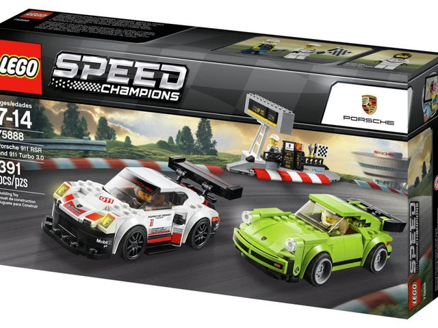 New Lego Speed Champions Sets Include Historic Porsches, Mustangs and Ferraris