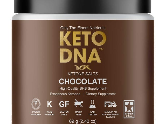 Keto DNA Chocolate Exogenous Ketone Supplement | BHB Salts for Ketosis $12.71