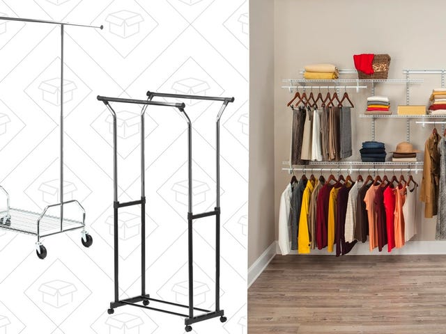 Beef Up Your Closet Storage Space With Home Depot's One-Day Sale