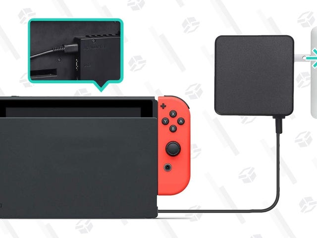Amazon Made An Affordable Replacement For the Switch's AC Adapter