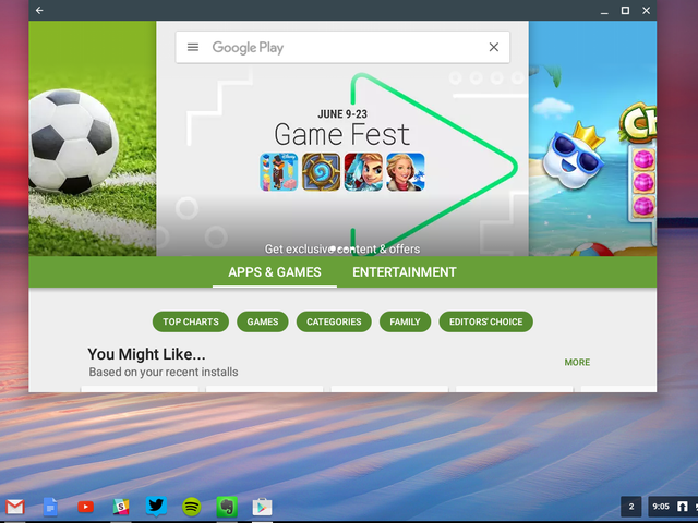 Android Apps Slå Chromebooks Into Macbook Killers