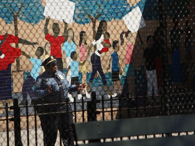 Sambungan Sedih Antara Perhambaan dan Kehadiran Polis di Sekolah