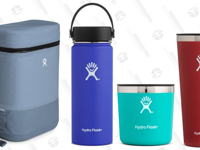 Hydro Flask's Retiring Five Great Colors, and You Can Buy the Remaining Stock For 25% Off