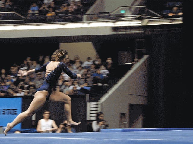 A Brief History Of Viral Gymnastics Routines