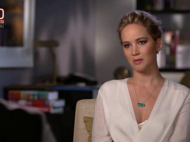 Jennifer Lawrence racconta scene di nudo di <i>Red Sparrow</i> potere dopo le perdite fotografiche