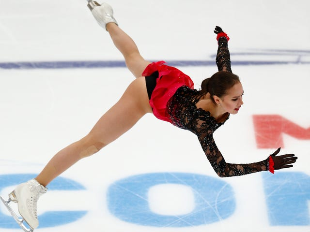 Alina Zagitova Says She Didn't Drink Water During The 2018 Olympics