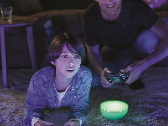Start a Light Show Anywhere with the Philips Hue Go, Now Back Down to $50