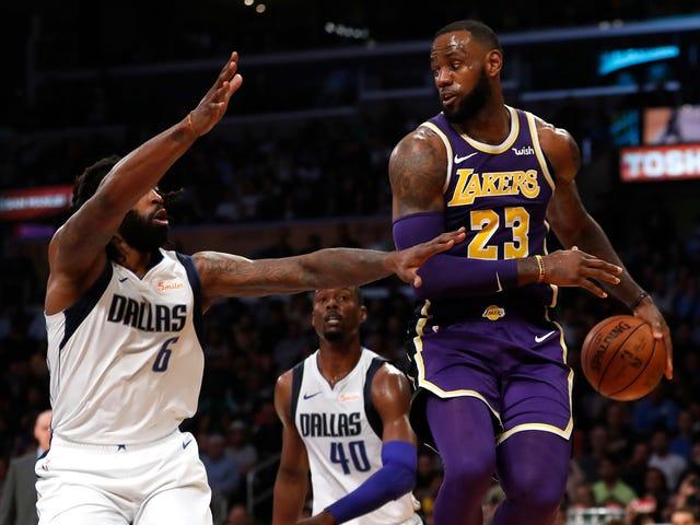 LeBron og The Lakers er Eking deres måde gennem dette