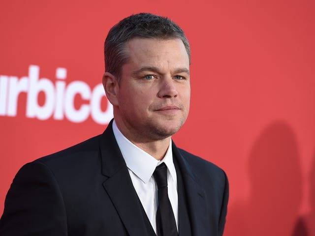 Matt Damon Vows to Shut His Mouth for a While