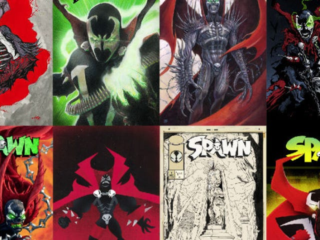 This 25th Anniversary Spawn Art Show Is Kind of Terrifying