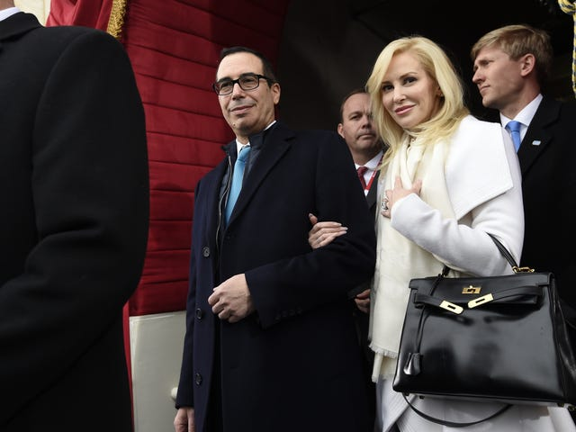 Louise Linton Swears She's Relatable, Wears SoulCycle Gear 'Every Single Day of My Life'