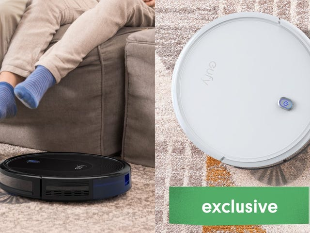 Take Your Pick Of Anker RoboVac Deals, Starting at $170 [Exclusive]