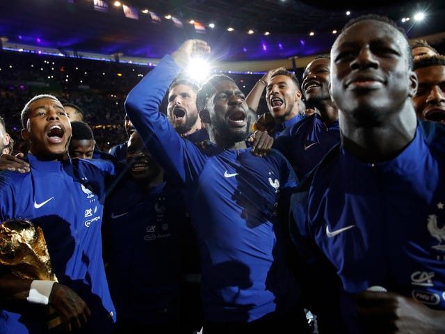 France's World Cup Celebration Party Was Wonderfully Joyous