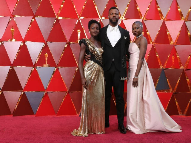 On Oscars Sunday, Guess Where We'll Be? (Hint: In Wakanda—and on Facebook)!