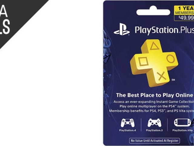 Save $10 on a Year of PlayStation Plus