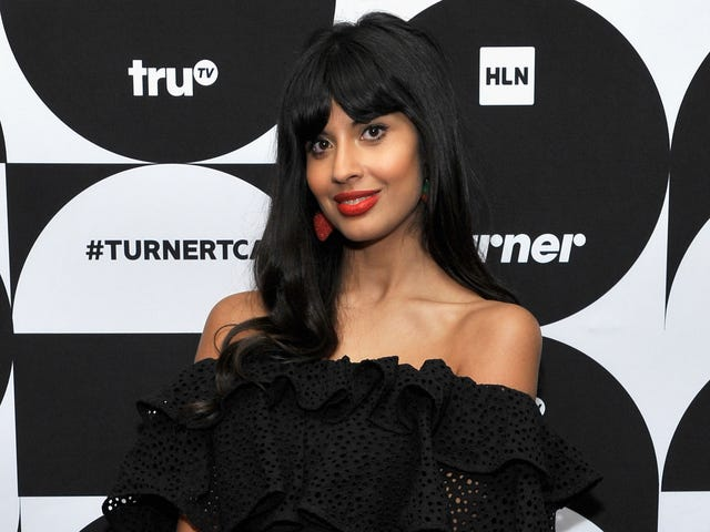 Jameela Jamil broke a toilet at her Good Place audition