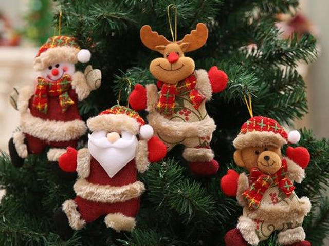 Christmas Hang Decoration Christmas Snowman Tree Hanging Ornaments