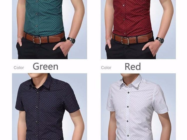 SLIM FIT MEN CASUAL SHIRT