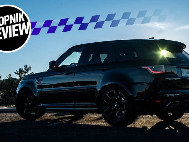 2018 Range Rover Sport SVR: På grund av att du knullar, det är därför