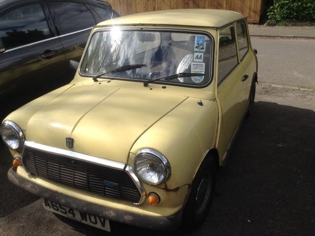 Sub £1000 Mini with an MOT?