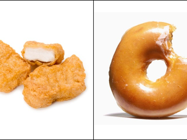 Behold the donug, the unholy-and-probably-delicious chicken nugget doughnut
