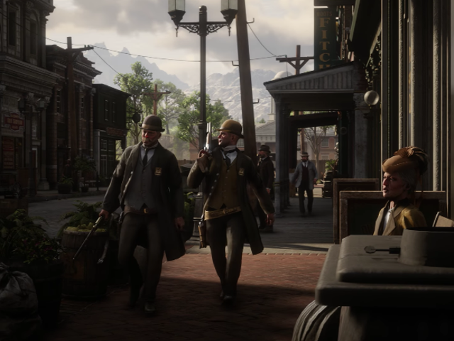 Red Dead Redemption 2 is looking mighty big in its latest trailer